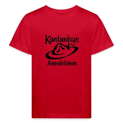 logo naam hoed amstelveen - Kinderen Bio-T-shirt