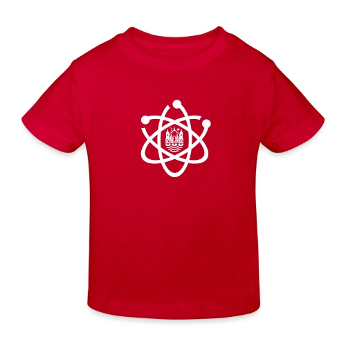 March for Science Aarhus logo - Kids' Organic T-Shirt