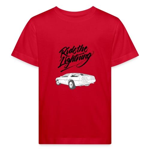 Delorean – Ride The Lightning - Kinder Bio-T-Shirt