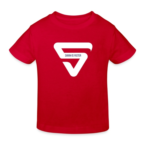 Sarah is Faster - T-shirt bio Enfant