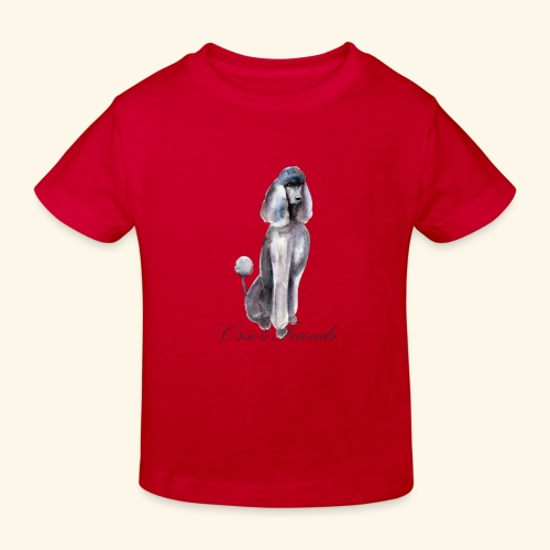 MISS POODLE - Maglietta ecologica per bambini