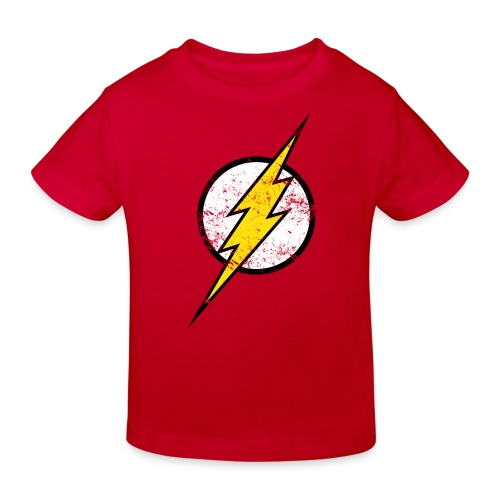 DC Comics Justice League Flash Logo - Kinder Bio-T-Shirt
