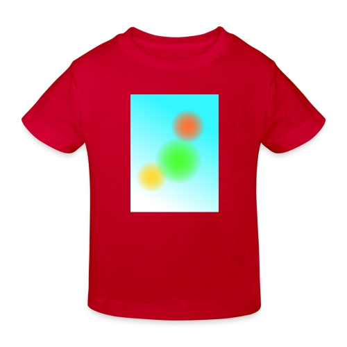 Magie der Farben - Kinder Bio-T-Shirt