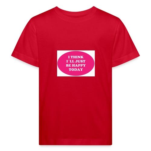 Spread shirt I think I ll just be happy - Ekologisk T-shirt barn