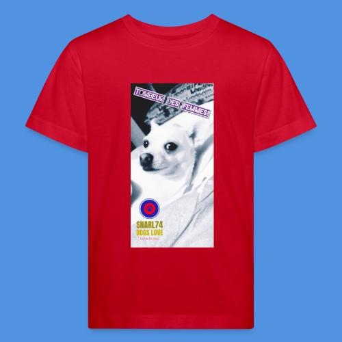 Cane cool - Maglietta ecologica per bambini