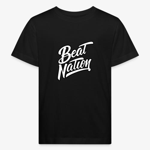 Logo Officiel Beat Nation Blanc - Kinder Bio-T-Shirt