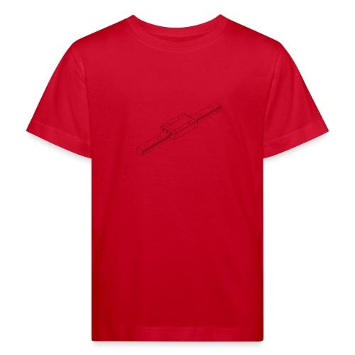 Rail and Block (no text). - Kids' Organic T-Shirt