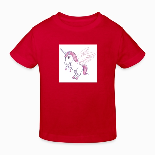 Petite licorne rose super mignonne!! - T-shirt bio Enfant