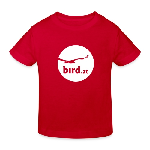 bird at - Kinder Bio-T-Shirt