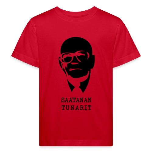 Kekkonen saatanan tunarit - Lasten luonnonmukainen t-paita