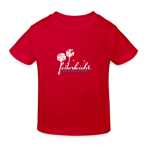 geweihbär Federleicht - Kinder Bio-T-Shirt