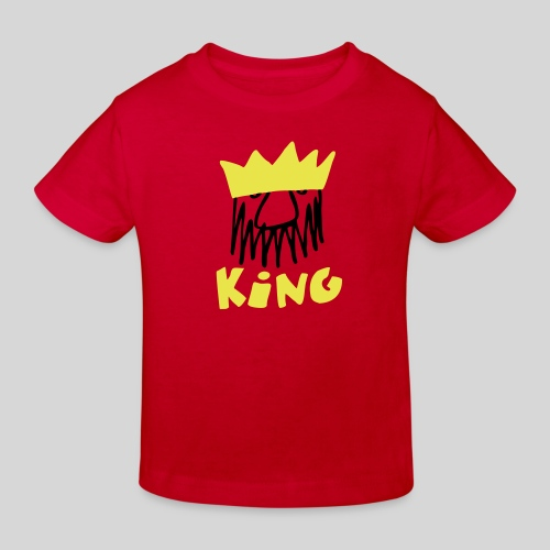 king - Kinder Bio-T-Shirt