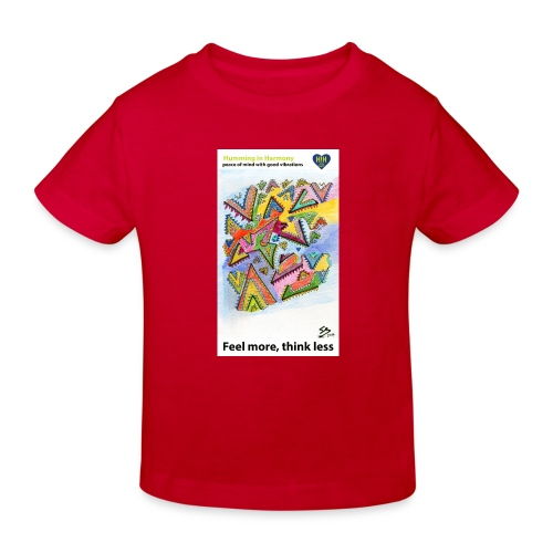 Triangle maze - Camiseta ecológica niño