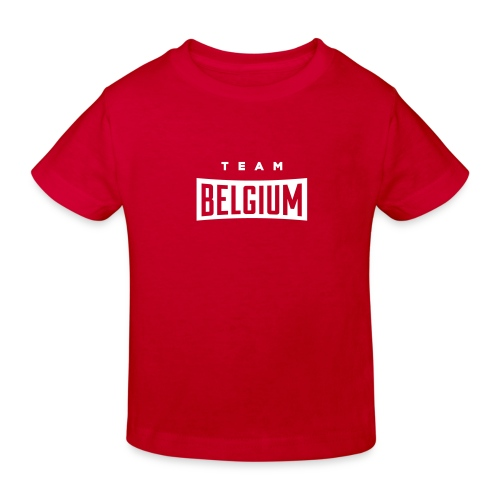 Team Belgium - Belgique - Belgie - T-shirt bio Enfant