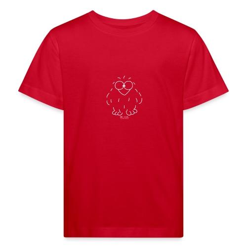 Niki Owl (blanco) - Kids' Organic T-Shirt