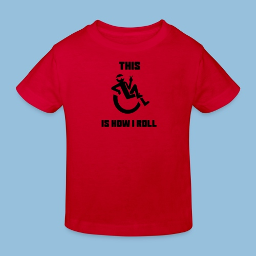 Howiroll10 - Kinderen Bio-T-shirt