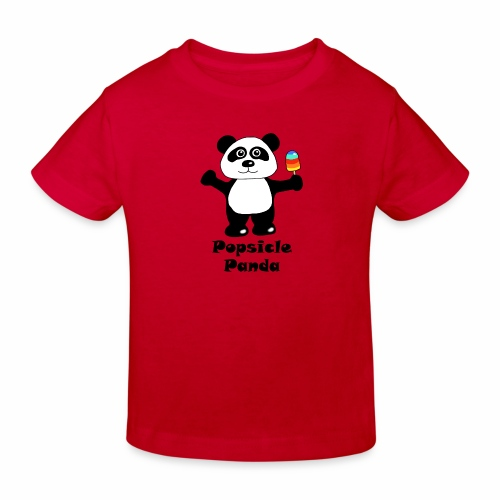 Popsicle Panda - Kids' Organic T-Shirt