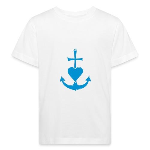 Glaube, Liebe, Hoffnung - Kinder Bio-T-Shirt