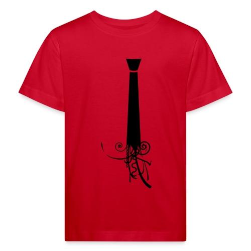 Krawatte - Kinder Bio-T-Shirt
