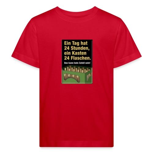 Bauern Sprüche - Kinder Bio-T-Shirt