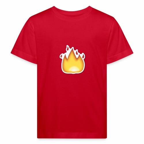 Liekkikuviollinen vaate - Lasten luonnonmukainen t-paita