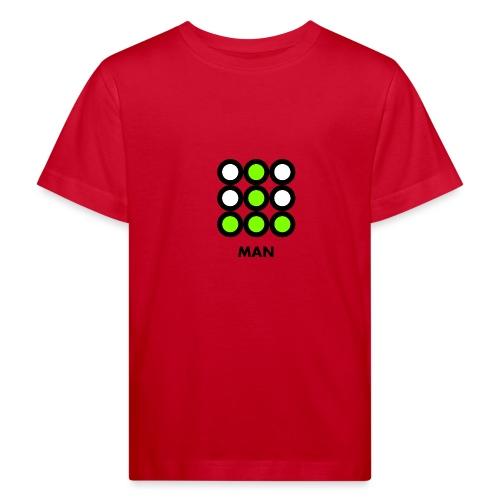 Man - Maglietta ecologica per bambini