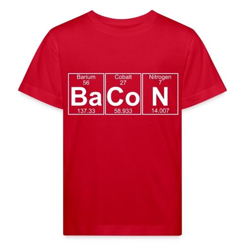 Ba-Co-N (bacon) - Full - Kids' Organic T-Shirt