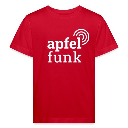 Apfelfunk Dark Edition - Kinder Bio-T-Shirt