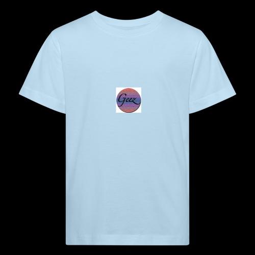 multi coloured logo - Kids' Organic T-Shirt