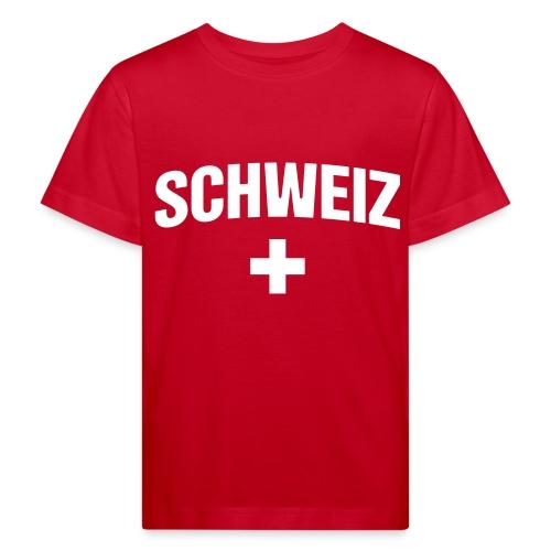 Schweiz - Suisse - Switzerland - Swiss - Kinder Bio-T-Shirt