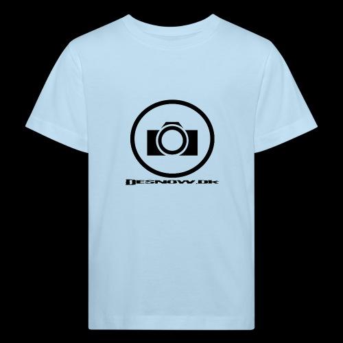 sort2 png - Organic børne shirt