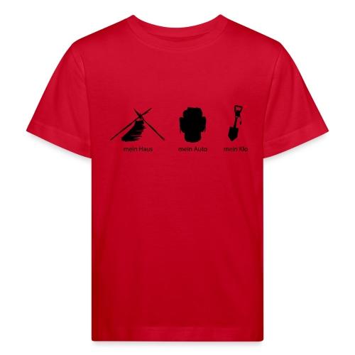 Haus Auto Klo - Kinder Bio-T-Shirt