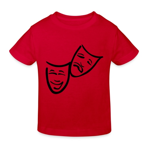 Theatermasken - Kinder Bio-T-Shirt