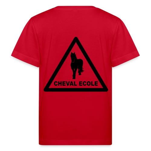 chevalecoletshirt - T-shirt bio Enfant