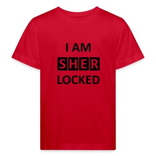 I AM SHERLOCKED - Kinder Bio-T-Shirt