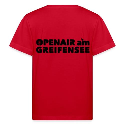 Openair am Greifensee 2018 - Kinder Bio-T-Shirt