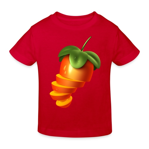 Sliced Sweaty Fruit - Kids' Organic T-Shirt