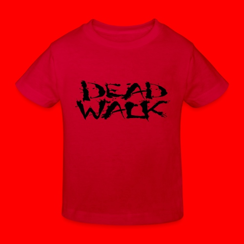 DEADWALK logo - Kids' Organic T-Shirt