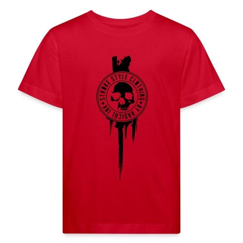 patch stroke pfade - Kinder Bio-T-Shirt