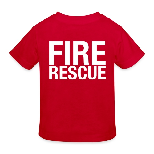 Fire and Rescue - Kids' Organic T-Shirt