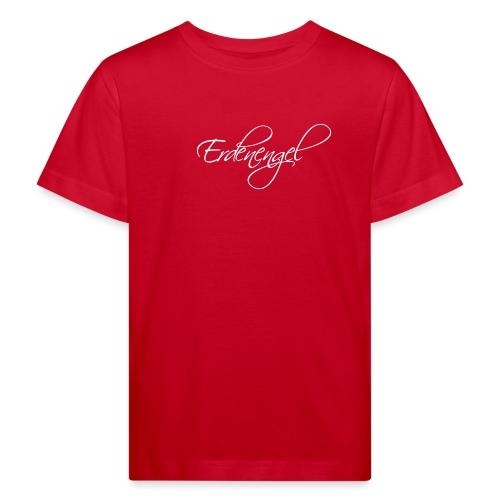 Erdenengel (Flügel am Rücken) - Kinder Bio-T-Shirt