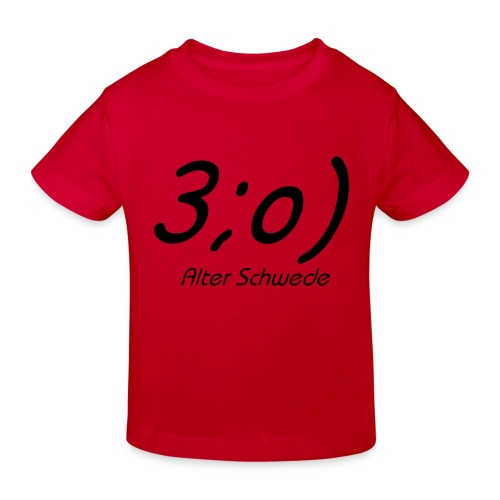 Elch Smiley - Kinder Bio-T-Shirt