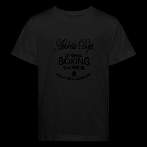 (high_school_couleur_uni) - T-shirt bio Enfant