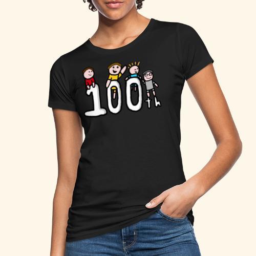100th Video - Women's Organic T-Shirt
