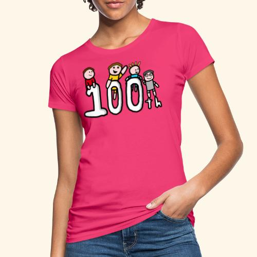 100th Video - Women's Organic T-Shirt