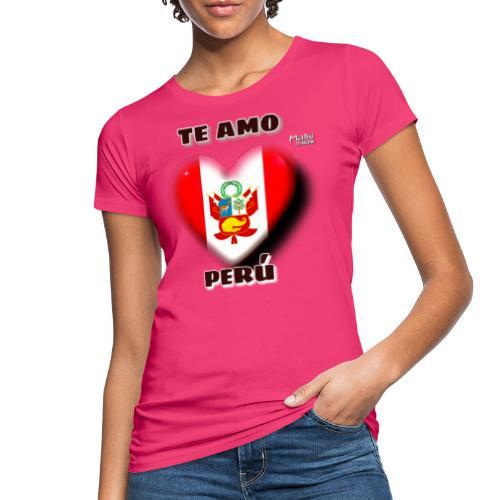 Te Amo Peru Corazon - Women's Organic T-Shirt