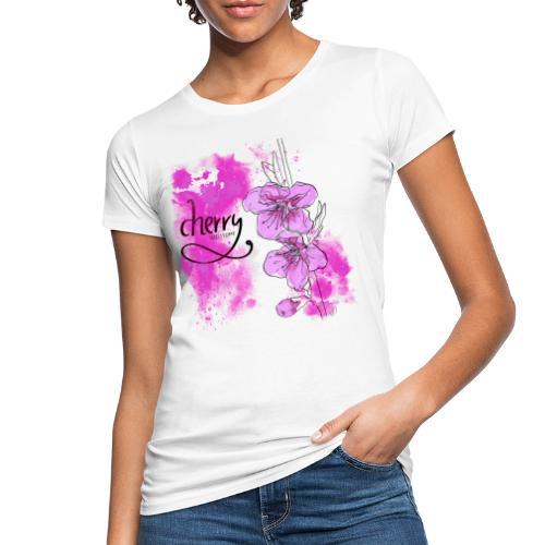 Kirschblüten Zweig - Frauen Bio-T-Shirt