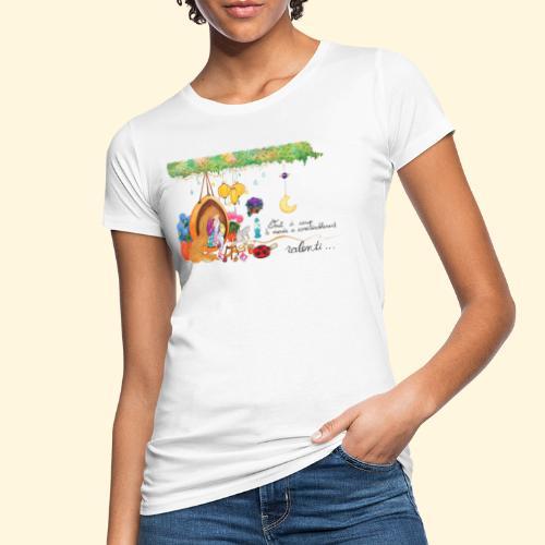 Tout à coup, le temps a considérablement ralenti - T-shirt bio Femme