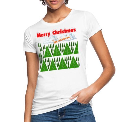 christmas time. Tempo di Natale - T-shirt ecologica da donna