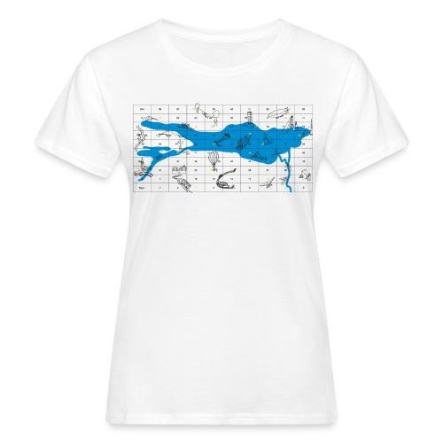Bodensee Leiterlispiel - Frauen Bio-T-Shirt